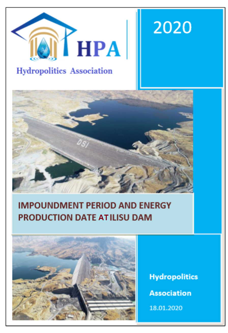 Hydropolitics Academy Report: Energy generation starts within three months at Ilisu Dam