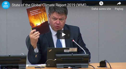 State of the Global Climate Report 2019 (WMO)