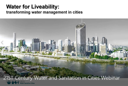 HPAs Webinar 21st CenturyWater and Sanitation in Cities